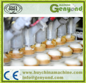 Ice Cream Cup Rotary Filling Sealing Machine pictures & photos