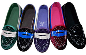 Cheap Lady Shoes Canvas Shoes Flat Shoes pictures & photos