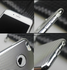 China Wholesale Newest Ultra Thin Electroplate TPU Cell Phone Case for iPhone 6 6s Plus Mobile Cover pictures & photos