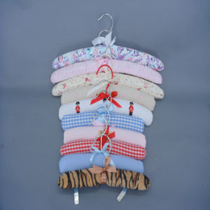 Hh Cute Colorful Design Padded Clothes Hanger, Hangers for Baby Suit pictures & photos