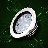 9W Ceiling Lamp LED Lighting Aluminum 180~240V (ZDS1103)