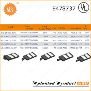 UL Dlc IP65 Outdoor 200W LED Shoebox Lights pictures & photos