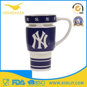 New York Yankees Ceramic Tea Cup Coffee Mug with Lid pictures & photos