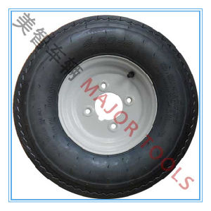 4.00-8 Tubeless Rubber Wheel Is Used for The Wheel of The Large Tool Vehicle, The Wheel of The Agricultural Tool Vehicle pictures & photos