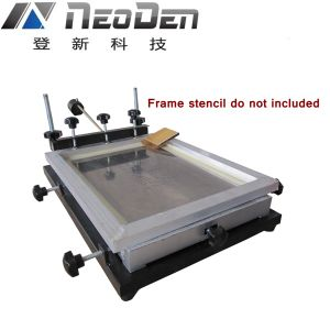 Manual Solder Printer 300X240mm for SMT Line pictures & photos