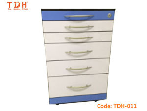 Mobile Dental Furniture Disinfection Cabinet Unit for Dental Clinic (TDH-011) pictures & photos