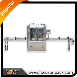 Automatic Linear Piston Paste Honey Oil Filling Machine pictures & photos