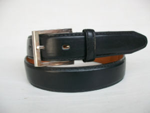 Men′s PU Belt Jx-M0035 with Pin Buckle pictures & photos