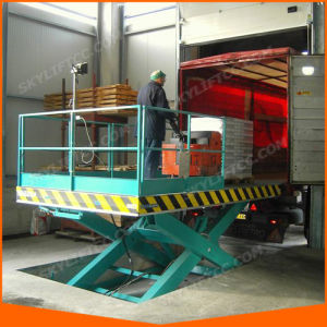 2016 Fixed Stationary Scissor Lift Table for Car Lift pictures & photos