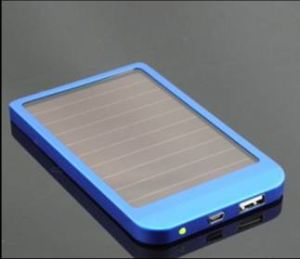 Poor Light Charger Solar Mobile Phone Power Charger Bank pictures & photos