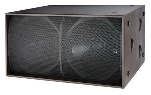 "Dual 18"" Speaker PRO Audio Falante Profissional Outdoor Caixa Subwoofer pictures & photos"