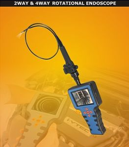 Industrial Video Borescope with 5.8mm Camera Lens, 2-Way, 3.5′′ LCD, 1m/2m/3m Testing Cable pictures & photos