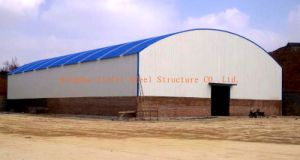 Arc Roof Steel Structure Shed pictures & photos