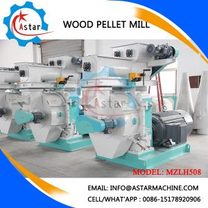 High BTU Wood Pellets Machine in Italy pictures & photos