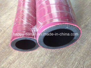 High Temperature Resistant Fabric or Wire Braid Steam Rubber Hose pictures & photos