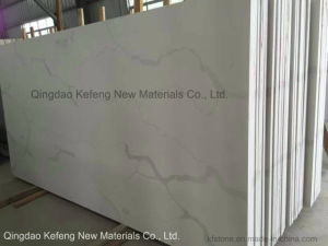 20mm, 30mm Calacata Quartz Stone Slab for Kitchen Island and Countertops pictures & photos