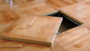 Calcium Sulphate Wood or Bamboo Floor (HDW)