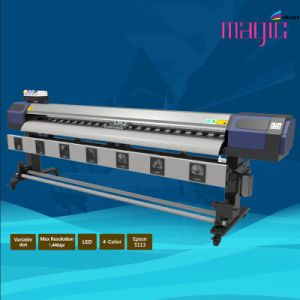 Mcjet 126 Inch Eco Solvent Digital Printer with 2 Printheads of Epson Dx7 pictures & photos