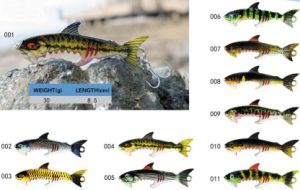 Top Grade Anglers New Fishing Lure Lifelike Realistic Fishing Pattern Fishing Lure pictures & photos