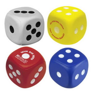 PU Antistress Ball, PU Dice pictures & photos