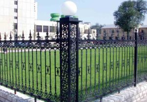 Prefab Iron Fence Panels, Wrought Iron Fence pictures & photos