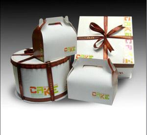 Popular Capcake Box / Custom Cake Packaging Box / Food Paper Box pictures & photos