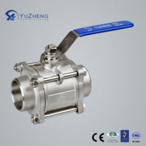Stainless Steel 3PC Bw/Sw Ball Valve pictures & photos