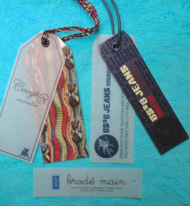 Recycling New Stlye High Quality Clothing Hang Tags pictures & photos