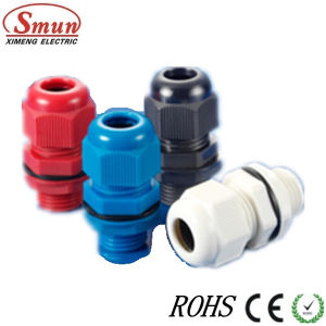 Pg9 Cable Gland, Plastic Glands, PA PP PE Material White, Grey, Black Color pictures & photos
