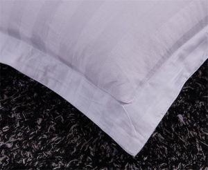 1cm Stripe Hotel Pillowcase 100% Cotton Pillow pictures & photos