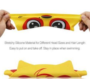 Silicone Swimming Premium Silicone Waterproof Non-Toxic Elastic Swim Cap pictures & photos