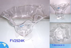 Clear Glass Candle Holders (ZT-37) pictures & photos