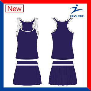 Sexy Tennis Clothing Womens Shirts Bodysuit Dresses pictures & photos