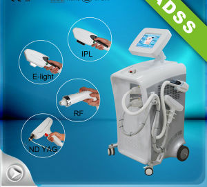 IPL ND YAG Laser Hair Removal and Tattoo Removal Machine pictures & photos