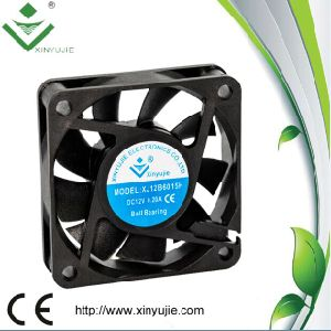 60*60*15mm DC Cooling Fan 2016 Hot Plastic Fan Made in China pictures & photos