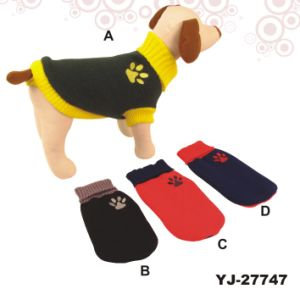 Dog Clothes Patterns, Dog Sweater (YJ27747) pictures & photos