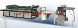 Semi Automatic Flute Laminator for Corrugated Cardboard Sheet pictures & photos