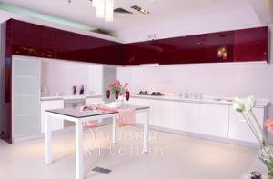 Baked Paint Kitchen Cabinet (M-L98) pictures & photos