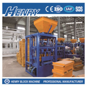 Qt4-24 Automatic Block Machine Concrete Cement Block Making Machine pictures & photos