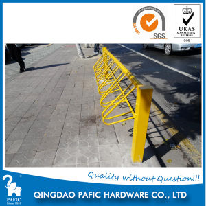 Steel Furniture of Bike Stand Rack on Road pictures & photos