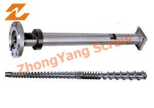 Extruder Screw Barrel PE Film Pipe Profile Extrusion Screw Barrel pictures & photos