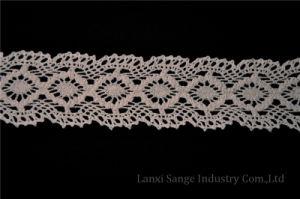 Novel Cotton Crochet Lace for Garment Accessories pictures & photos