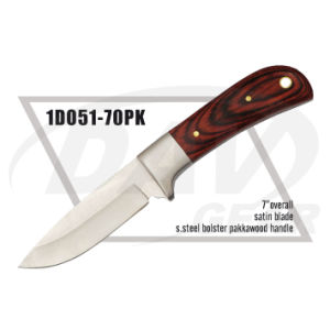 "7"" Overall Pakkawood Handle Dagger with Satin Blade: 1do51-70pk pictures & photos"