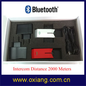 Newest Motorcycle Bluetooth Helmet Headset with Intercom 1km pictures & photos