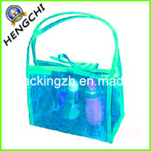 PVC Bag for Cosmetic Gift Packing, Clear PVC Zipper Bag pictures & photos