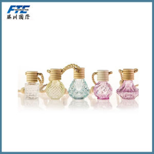 Perfume Glass Bottle Diamond Empty Car Perfume Bottle pictures & photos