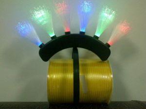 LED Headwear, Headwear, 6LED Fiber Hairpin