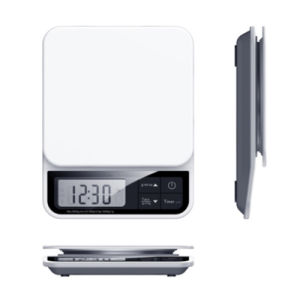 Timer Clock Function High Accuracy Kitchen Scale pictures & photos