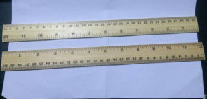 30cm Wooden Ruler for Office Supply pictures & photos