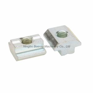 Roll-in Nut for T Slot Aluminum Profile 4040 Series pictures & photos